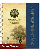 Georgetown University Environotes Recycled One-Subject Notebook