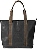 Georgetown University Leather Tote