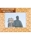 Georgetown University 4 in. x 6 in. Frame