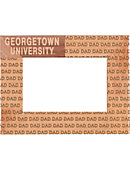 Georgetown University 4 in. x 6 in. Dad Frame