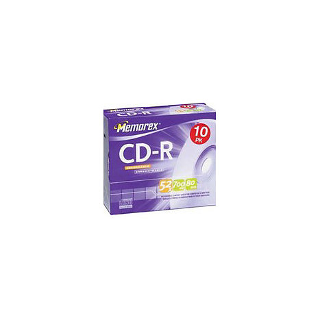Product: CDR MEMOREX 10-PK JEWEL