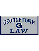 Georgetown University 'Law' 18''x36'' Banner