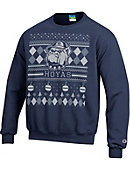 Georgetown University Hoyas Ugly Sweater Long Sleeve T-Shirt