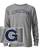 Georgetown University Long Sleeve Victory Falls T-Shirt