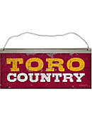 California State University at Dominguez Hills Toros Country Tin Sign