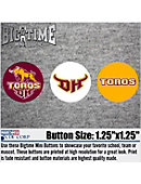 California State University at Dominguez Hills Let's Go Toros 3-Pack Mini Button