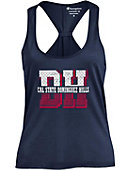 California State University at Dominguez Hills Women's Athletic Fit Swing Tank Top