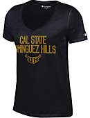 California State University at Dominguez Hills Women's V-Neck T-Shirt