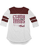 California State University at Dominguez Hills Toros Women's 3/4 Sleeve Top