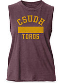 California State University at Dominguez Hills Women's Muscle Tank Top