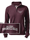 California State University at Dominguez Hills Women's 1/2 Zip Top