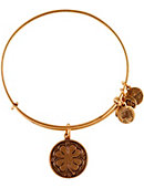 Bryant University Wire Four Leaf Clover Bracelet