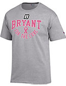 Bryant University Breast Cancer Awareness Ribbon T-Shirt
