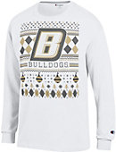Bryant University Bulldogs Ugly Sweater Long Sleeve T-Shirt