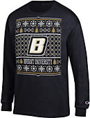 Bryant University Bulldogs Ugly Christmas Sweater Long Sleeve T-Shirt