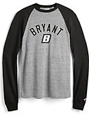 Bryant University Long Sleeve Baseball T-Shirt