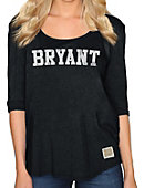 Bryant University Women's 3/4 Sleeve Mock Twist T-Shirt