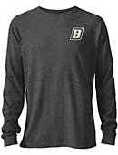 Bryant University Tri-blend Twisted Long Sleeve T-Shirt
