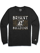 Bryant University Long Sleeve Athletic Fit T-Shirt