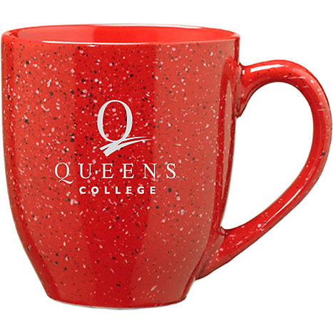 Product: Queens College 16 oz. Bistro Mug