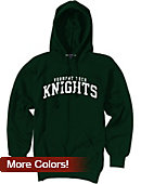Vermont Technical College Knights Hooded Sweatshirt