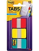 Post-it Tabs 66 Tabs/On-the-Go Dispenser