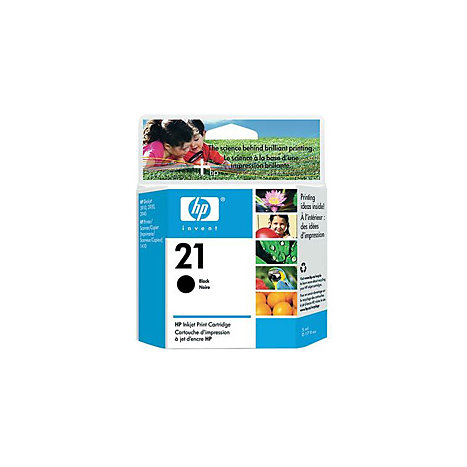 Product: HEWLETT PACKARD INK CART HP 21 BLACK C9351AN#140
