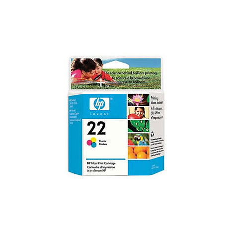 Product: HEWLETT PACKARD INK CART HP 22 TRI-COLOR C9352AN