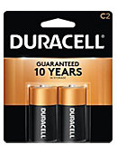BATTERY 2PACK C CELL DURACELL