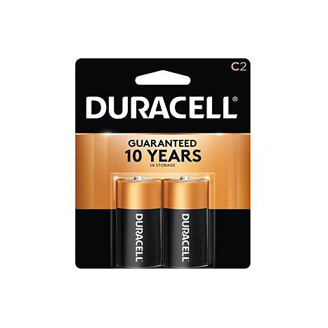 Product: BATTERY 2PACK C CELL DURACELL