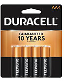 BATTERY 4PACK AA DURACELL