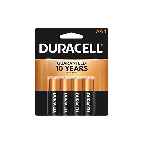 Product: Battery 4Pk AA Duracell