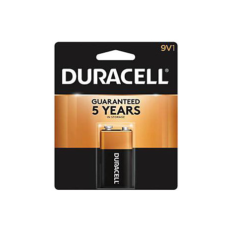 Product: Battery 9Volt Alkaline Duracell