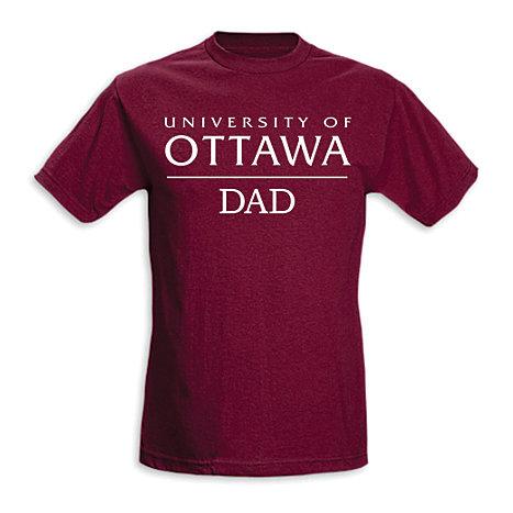 University Of Ottawa Dad T Shirt Universit D 39 Ottawa