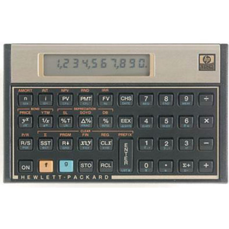 Product: CALCULATOR HP12CC FINANCIAL