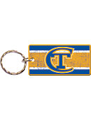 NYC College of Tech Yellow Jackets Mirror Keychain