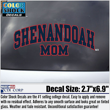Product: Shenandoah University Mom Decal