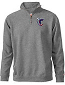 Shenandoah University Hornets Tri-Blend 1/4 Zip Fleece Pullover