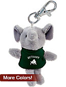 Bethany College Bison Plush Keychain
