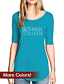 Bethany College Women's 3/4 Length Sleeve