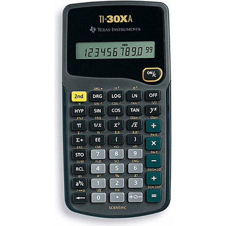 Product: TI30XA SCIENTIFIC CALCULATOR