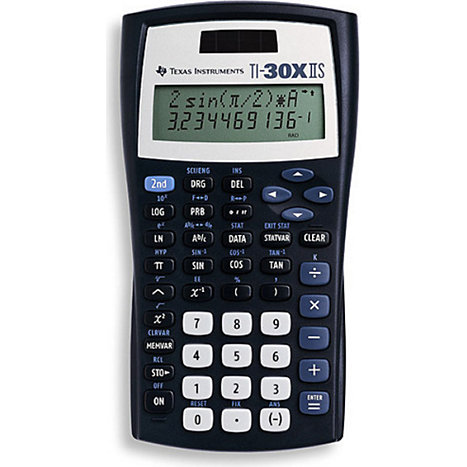 Product: TI30XIIS CALCULATOR DUEL PWR SCIENTF