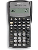 CALCULATOR TI-BAII PLUS 10DIG/24CASH