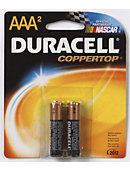 BATTERY 2PACK AAA DURACELL