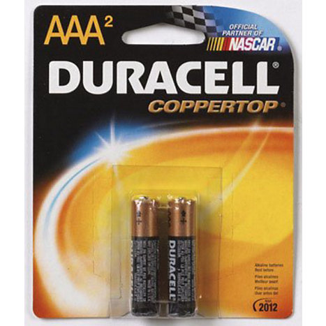 Product: Battery 2Pk AAA Duracell