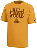 Valparaiso University Crusaders 'I Bleed Brown and Gold' Youth T-Shirt