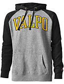 Valparaiso University Tri-Blend Color Block Hooded Sweatshirt