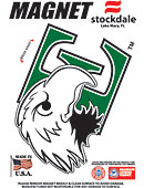 Eastern Michigan University Eagles 4''x4'' Magnet