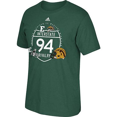 Eastern michigan university eagles football short sleeve t for Eagles football t shirts