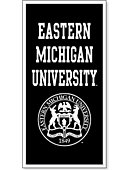 Eastern Michigan University 18'' x 36'' Banner